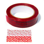 Tamper Evident Security Tape With Sequential Number and Perforation